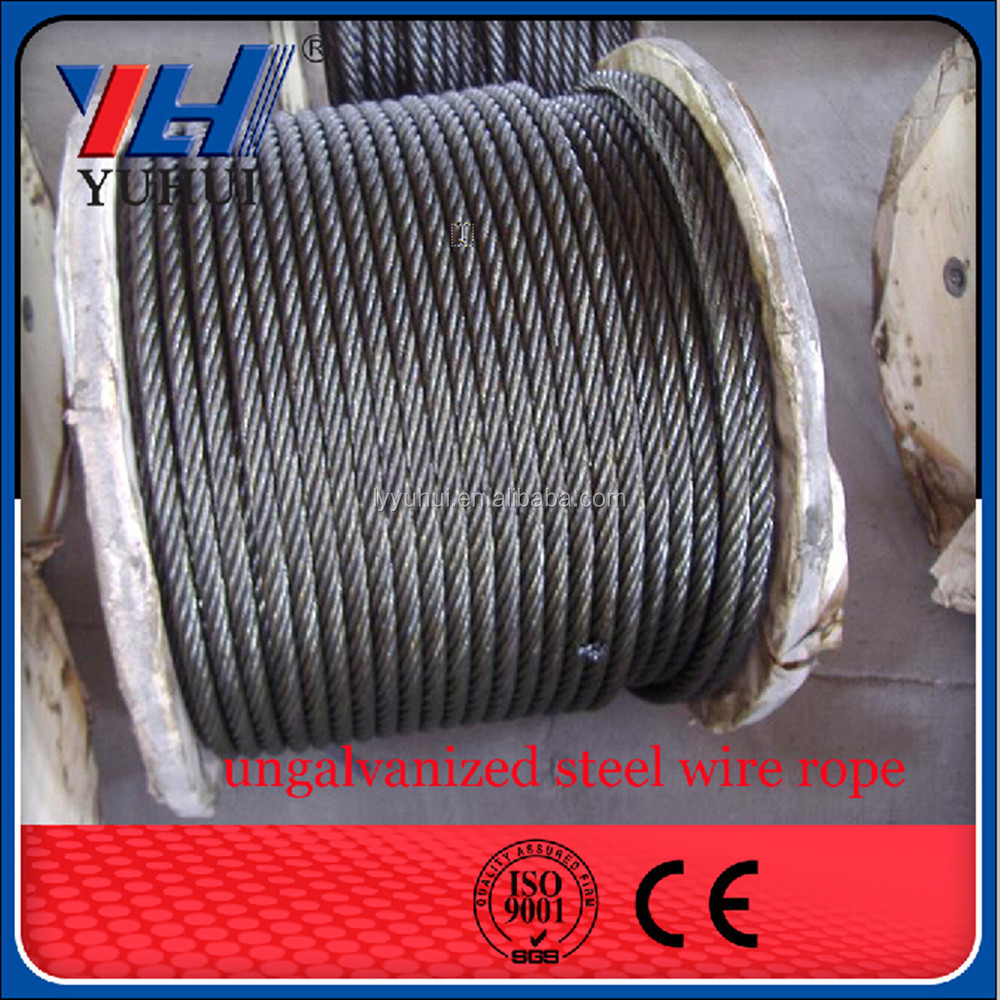 steel wire rope with fused and galvanized