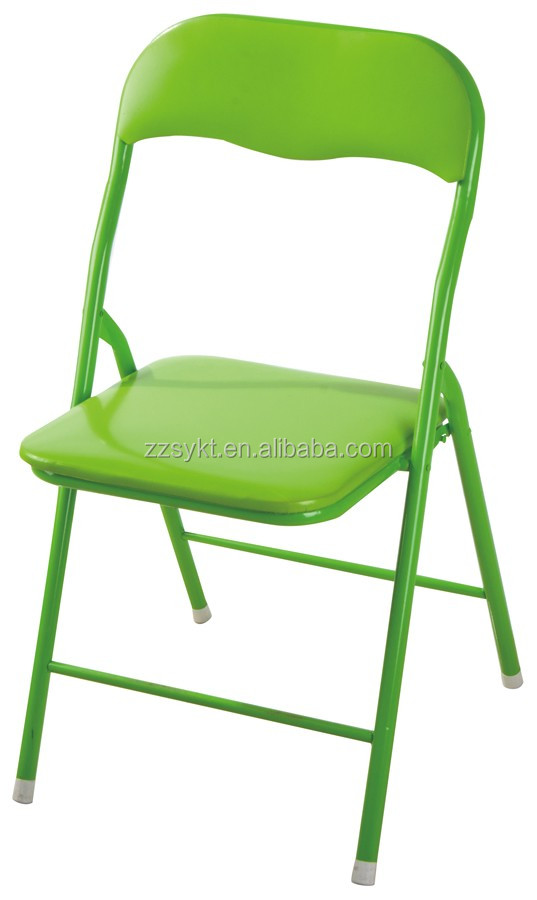 Beautiful Cheap Metal Folding Chairs With Pvc Seat And Back For Sale Buy Ch