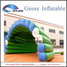 Inflatable beautiful design&bright color tent/inflatable green shell advertising tent