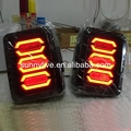 2008-2015 Year for Jeep for Wrangler LED Tail Lights Smoke Black PW