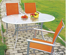 sling outdoor furniture 5pcs table sets outdoor furniture victory garden