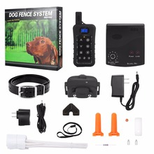 Rechargeable Waterproof In-Ground Electronic Pet Dog Fence 1200M control dog containment