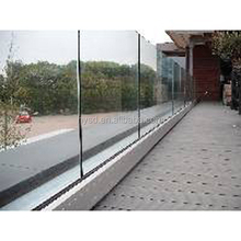 tempered glass fence panels shower wall panels
