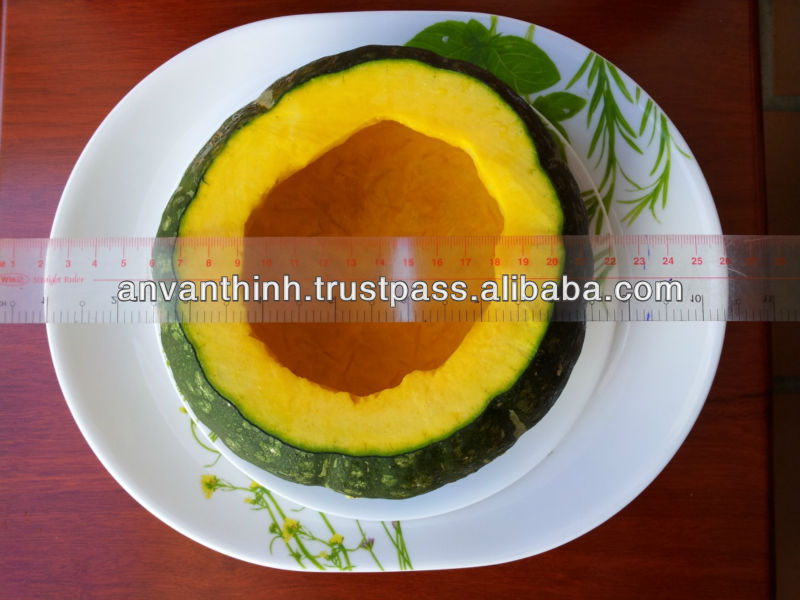 Frozen Pumpkin whole without seeds, Frozen Vegetable
