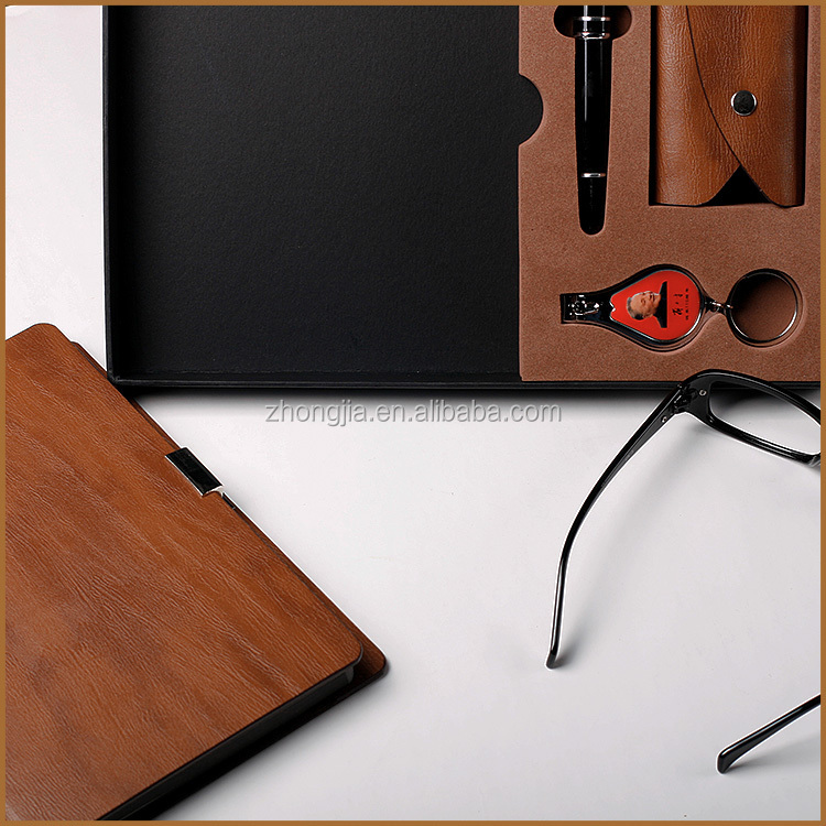 High End Promotional Loose Leaf notebook Gift Set