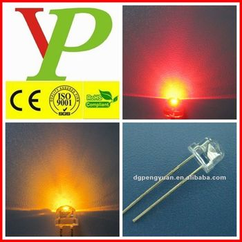 Red green blue white yellow orange 5mm straw hat led diode