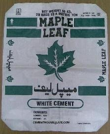Maple Leaf White Cement