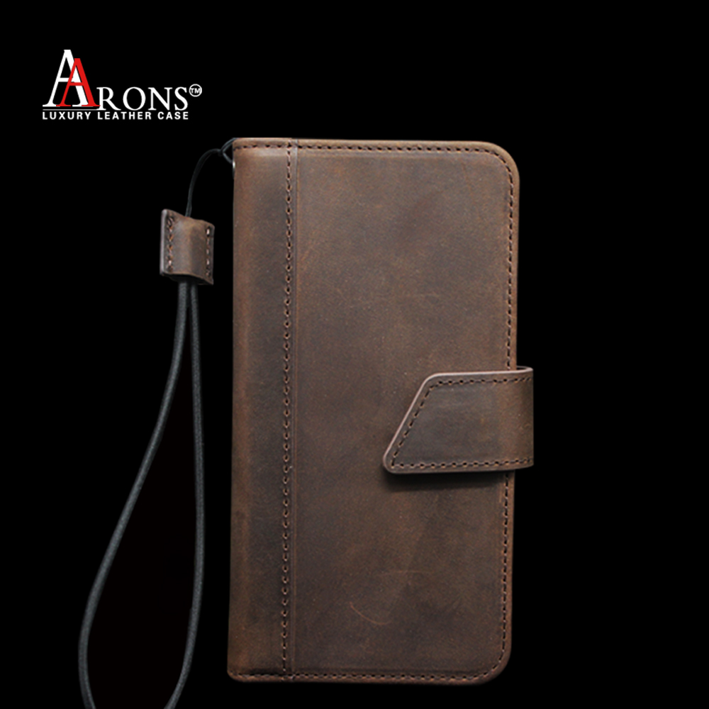 Vintage wallet cell phone case leather flip case for samsung galaxy e7