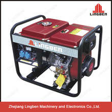 Lingben 5kv Diesel Generator 220V Electric Start Open LB5000CXE