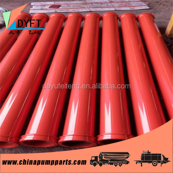 trucks and trailers parts concrete pump seamless conveying pipe