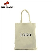 Promotional Plain Canvas Cotton Tote Bag