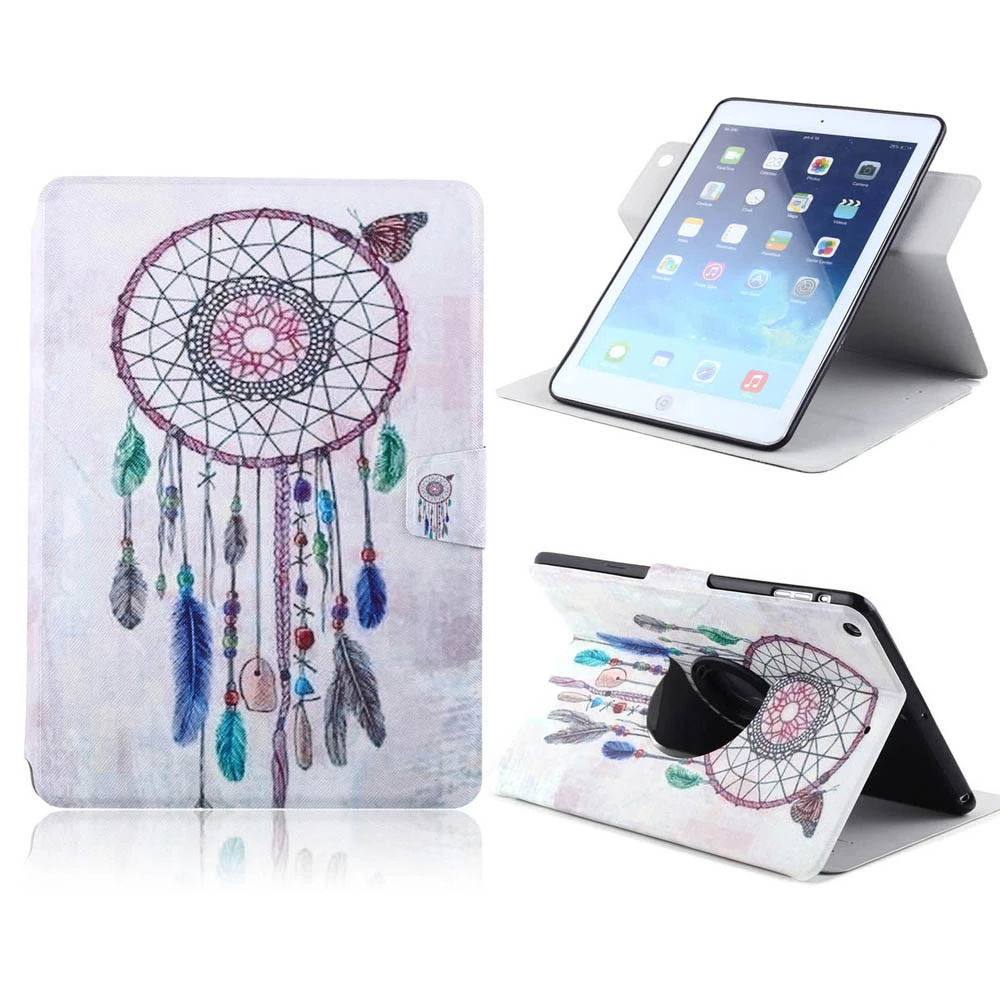 For iPad 2/3/4 case Ultra Thin Magnetic Smart PU Leather Stand Case With Card Holder Cover Customize Printed for ipad 2/3/4 case