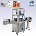 Automatic cap machine for plastic bottles
