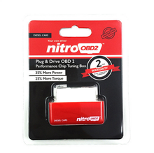 China supplier OBD2 Chip Tuning Box NitroOBD2 fits all car from the year of 1996 NitroOBD2 Car Chip Tuning for diesel