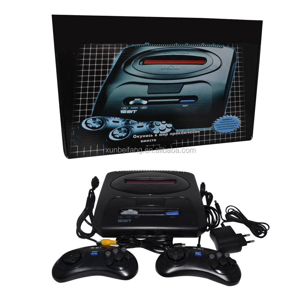 2016NEW!16 BIT retro game MD Genesis for SEGA Video Game console,16 bit tv game console