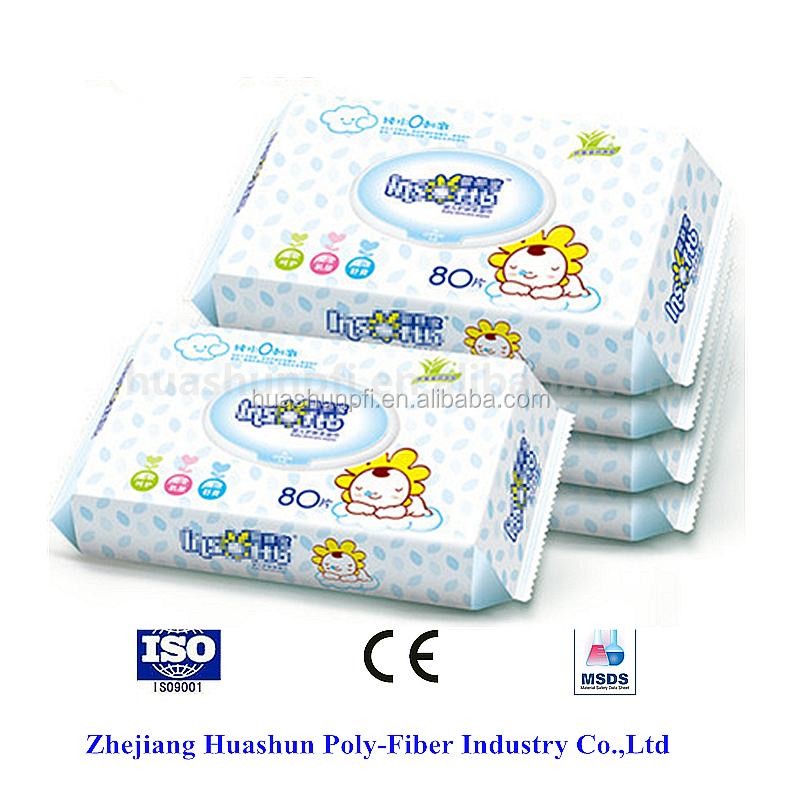 hot sale 2017 baby wet wipes for hand mouth and face non-woven wet wipes