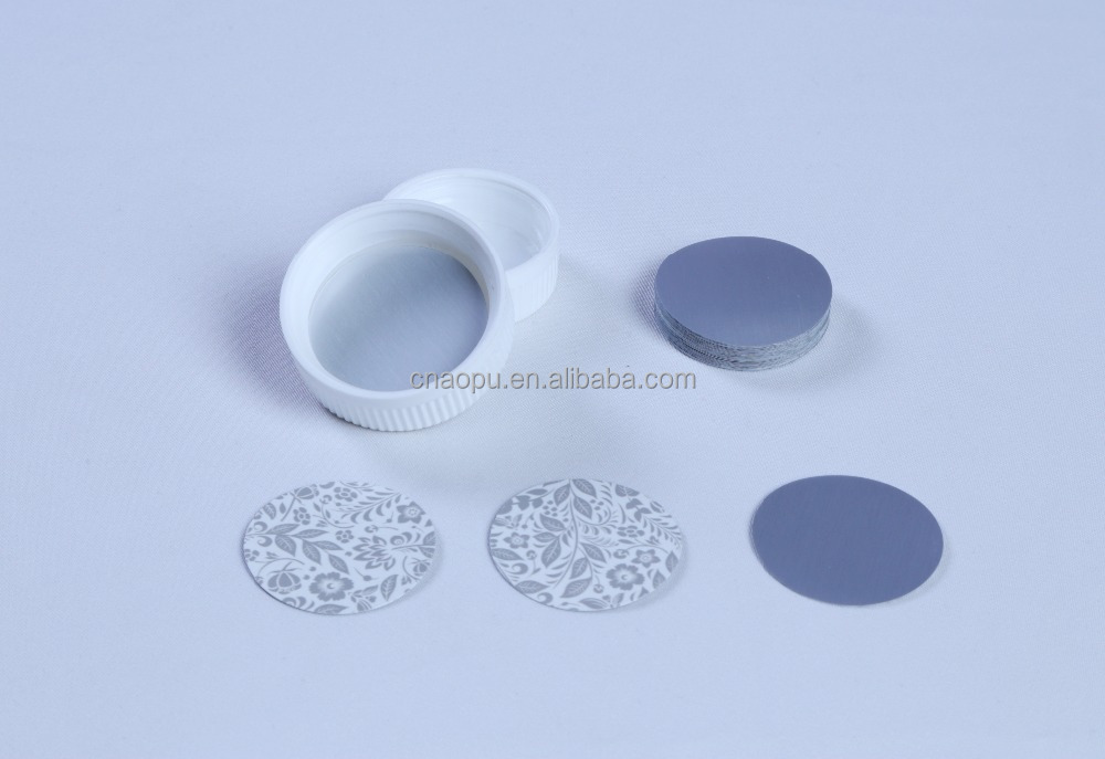 Press&Seal Cap Liners Foam Safety Tamper Seals for Jar,Lid,Bottle