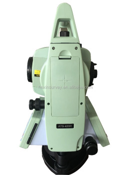 "China brand Sunway total station angle accuracy is 2"" ATS-420R low price total station"
