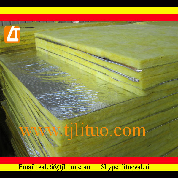 glass wool roll felt industrial roofing materials