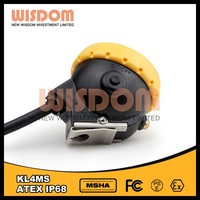 Professional rechargeable led miner safety caplights for Wisdom