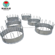 Professional custom high quality galvanized steel muti size round hay feeder for deer, sheep, cattle