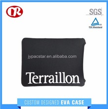 Custom size black color printed pattern EVA material laptop protection case