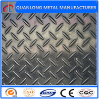 ss400 a36 Q235 mild carbon steel diamond plate specification
