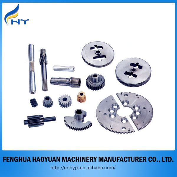All kinds of gears and gear wheel transmission parts produce in china factory