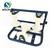 Triple Corner Cable Roller Cable Guide Pulley