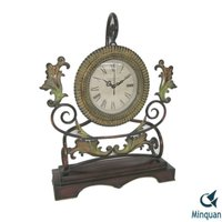 Classic Iron Desk Clock