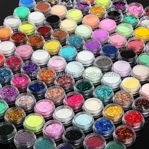 Nail Art Shiny Sparkle Glitter Powder Dust Tips DIY Decoration