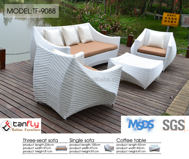 fashion (an-825bk) roots rattan outdoor furniture good quality