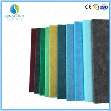 Environmental Materials Soundproof Fiberglass Polyester Fiber Acoustic Panel