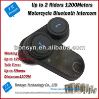 China Manufacture Bluetooth interphone 1000M Full-duplex intercom systems wireless