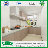 China factory Wholesale Flame Retardance PVC Sheet Thickness Inner Walls and Cabinet Decoration
