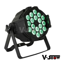 China DJ indoor lighting 18x10w rgbw 4in1 led par can light package for party stage