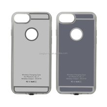 Newest magnetic qi standard TPU wireless charging receiver case for iphone 6/6plus/7/7plus