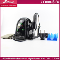 High quality powerful 35000 rpm electric nail drill strong
