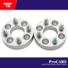 "6061 t6 1.25"" aluminum wheel spacer 4x100 bore 74mm 12x1.5 studs"