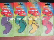 2015 funny novelty cute feet children promotional car air freshener