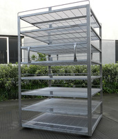 sausage hanging trolley high quality food transport trolley for industry
