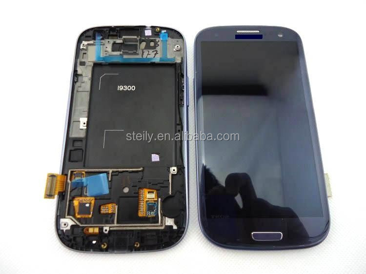 OEM Factory Supplier LCD complete for Samsung Galaxy S3 i9300, For Samsung S3 LCD replacement, For Samsung S3 repair LCD display