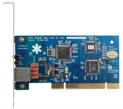TE110P Single T1 / E1 / J1 PCI interface asterisk card ISDN PRI card compatible digium elastix card for opensource IP PBX