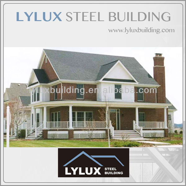 Ready made homes prefabricated turn key project houses,steel prefab homes