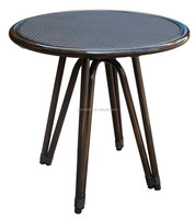 outdoor mini round table