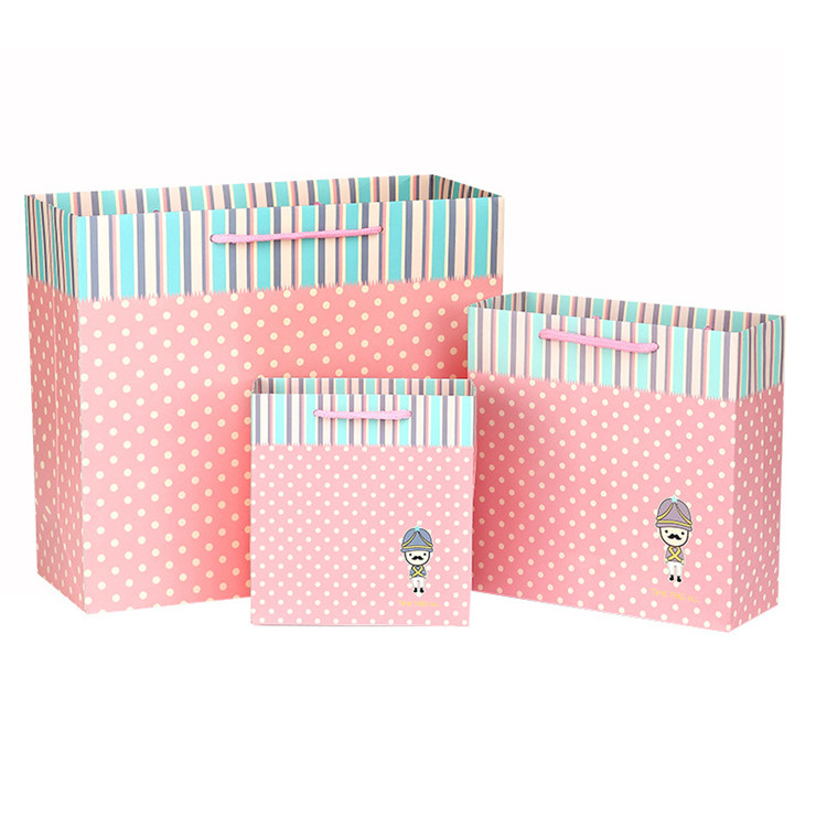 Fashion spotted stripes Pattern bag creative gift bag