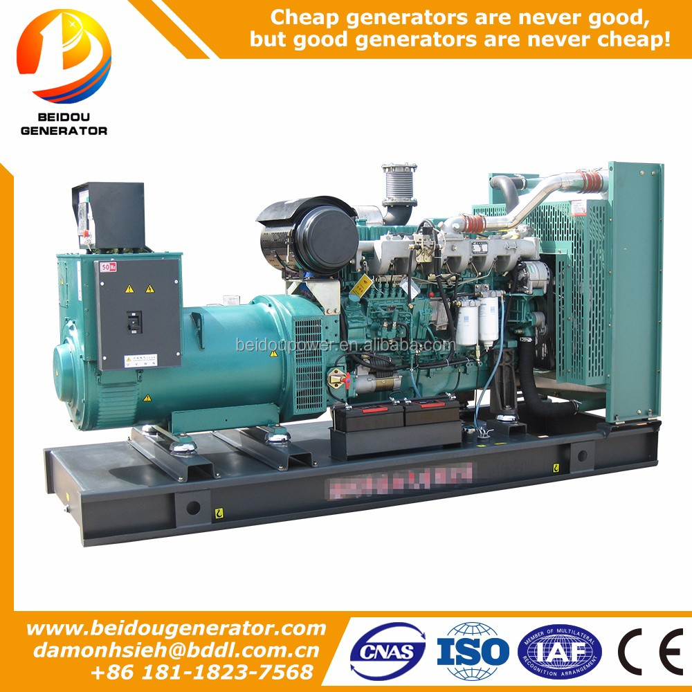 500kw high quality 625kva generator diesel india price Yuchai YC6TD840L-D20 from China manufacturer