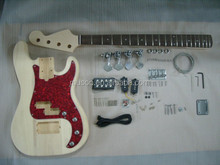 PROJECT ELECTRIC GUITAR BASS BUILDER KIT DIY WITH ALL ACCESSORIES( K24)
