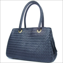 High quality design short handle band name stylish girl's ladies' handbag at low price