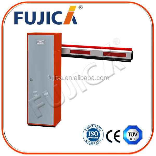 Remote control automatic parking road barrier